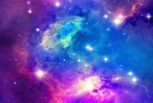 Galaxy ! / With galaxy style you can make gifts , diy's  or decorate your room! It's so easy to make with paint and if you like you can do it with graffiti! I love this style !