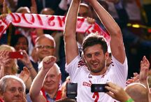 Winner - Poland the volleyball in the world champions 2014. organized in poland