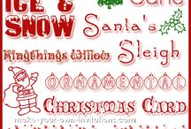 Jul som har litt mindre med kort å gjøre