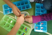 counting with ice trays