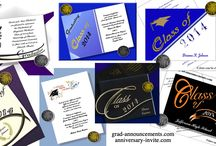 graduation invitations / graduation invitations, graduation announcements, name cards, diploma covers, graduation seals, graduation address labels
