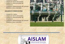 Catalogo: Aislamientos Térmicos en la Industria / Aislamientos Térmicos en la Industria
