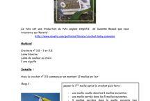 travaux crochets et tricot