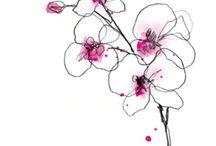 watercolour-flower