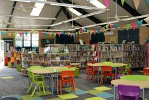 Library Furniture - Subiaco Primary School / Our latest library make-over and what a transformation!