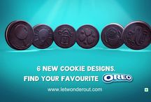Oreo New Cookie Designs / Catch this section to know more about the New Oreo Cookie designs