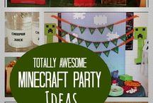 Minecraft Rae's birthday party