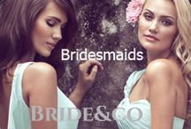Bridesmaids / Bridesmaids, otherwise known as BFF's or Besties. View Bride&co's range of bridesmaids dresses, with all the styles and colours from R950 each at stores nationwide.