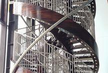 a nagy lépcsőm - my big double helical staircase / Szlovákiai Somorján található Elements Resort, Aqua Arenajában ezen a lépcsőn lehet feljutni a csúszdákhoz