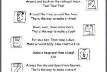 Poems / Preschool