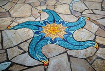 Cool Mosaics / A collection of beautiful mosaics and tutorials to inspire! Yes, you can make a mosaic too :)