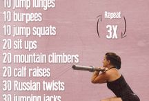 Working Out - Crossfit / by Jennifer Ridenhour