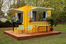 shipping container shack