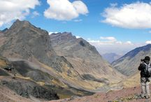Lares Trek / This trek from Lares trough the plains of Fondo Huaran is a route scarcely traveled by tourists.