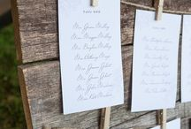 Wedding Seating Ideas / Want ideas to help you display your seating information at your wedding?