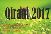 Qirani 2017 / Qirani 2017  Telp/SMS: 0812-3831-280 Whatsapp: +628123831280 PinBB: 5F03DE1D