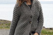 Veste femme en tricot