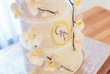 Orchid wedding cake * Dulce by Paula