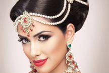 India Bridal hairstyles