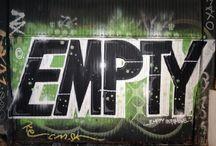 Sevilla, Street Art / Graffiti artists work