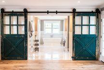 τζαμενια συρόμενη πόρτα