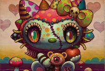 Arte De Hello Kitty