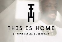 JohannaN - THIS IS HOME / A collaborative collection we have done with the Swedish rapper Adam Tensta. The collection is a kaleidoscope of patterns from the Swedish million housing projects. Finland and Gambia. Places of importance for Adam - and Norrland, Johanna´s home. This is Home tells a story of influence, heritage and belonging.