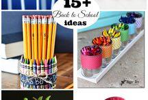 School Crafts / School crafts, teacher gifts, school lunch ideas
