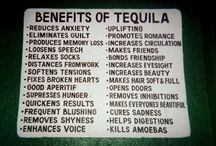 Tequila and Mezcal / If it's from Mexico, is distilled from agave, and is blanco, reposado, or anejo, it goes here.