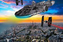 Star wars in Paris