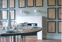 gallery wall: structured