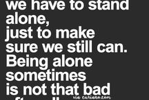 have to stand alone