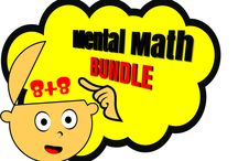 Mental Math / Mental Math! Mental Math! Mental Math! Who Needs Help with Mental Math?  Sharpen your mental maths skills on this selection of math games. Mental math is just the thing to keep your mind sharp! these fun mental math game are great for training mental addition, subtraction multiplication & division skills. https://www.teacherspayteachers.com/Product/Mental-Math-1558969