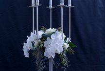 WEDDING CENTREPIECES / Centrepieces for wedding reception