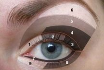 Eyes / Smoky eyes makeup and tips that will help in daily life.