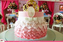 Bolo Cascata de Pétalas para uma Princesa! / Um Bolo de Aniversário especial da Ana Barros Bolos para uma Princesa!