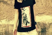 FinGer Made Me / Hand painted t-shirts made with Love
