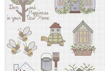 cross Stitch - various