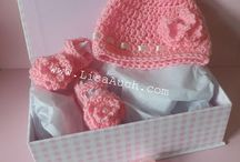 gift boxed hats and booties