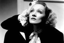 Marlene Dietrich.