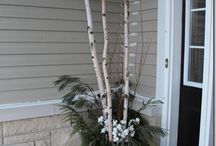 Winter urns