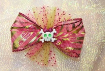 Hair Bows......Phunkie Punkies / Hair bows and accessories! / by Krysta Wenski