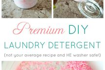 Homemade Products that Save Money / Household cleaners, laundry detergent, dishawashing soap—you name it, and there's a way to DIY. Here's some products you can make to save money in the long run.