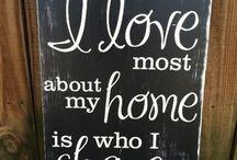 Hus/Skilt/Fiffige løsninger / Litt av hvert egentlig :)