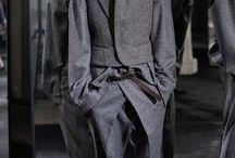 geometric drape and contextual awareness menswear