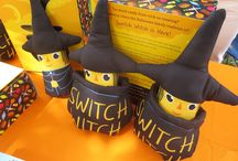 "SWITCH WITCH / According to lore and legend, The Switch Witch arrives each year around Halloween and will give a gift to any child willing to give her some or all of their ""Trick or Treating"" candy. / by Scott Nash"