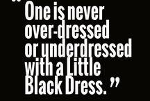 Dresses / little black dress