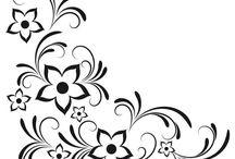 цветочные орнаменты
