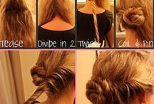 Hair styles / Hair styles for inspiration.