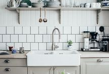 Kitchen Decorating Ideas / Colours and Ideas for your kitchen